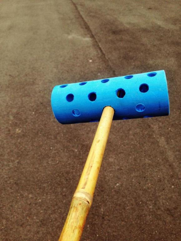 bamboo mallet